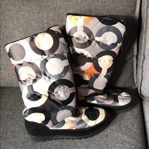 COACH women's winter boots